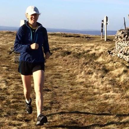 The last time in Yorkshire, I ran.