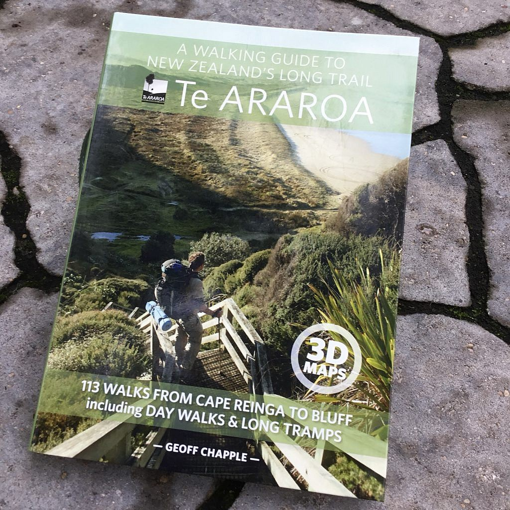 I'll begin walking New Zealand end-to-end this coming November on the Te Araroa.
