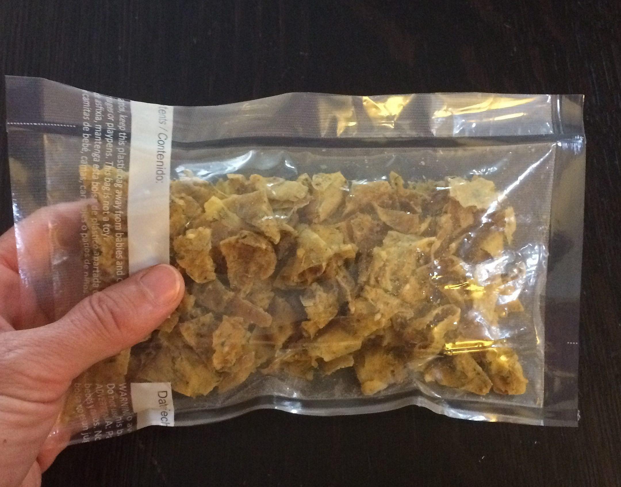 Potato bark is versatile, lightweight and very tasty.