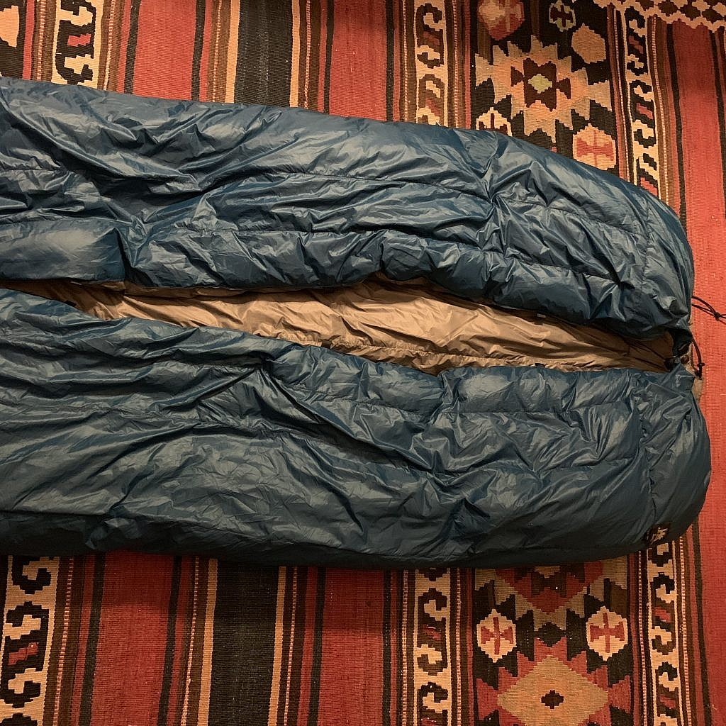 """The Hammock Gear quilt looks like a prop from """"Invasion of the Body Snatchers."""""""