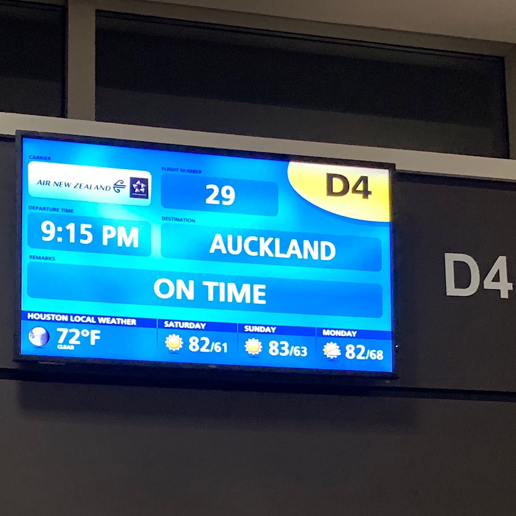 It was a long day+ of three flights, back-to-back, from Minneapolis to New Zealand and ultimately Kerikeri in Northland.