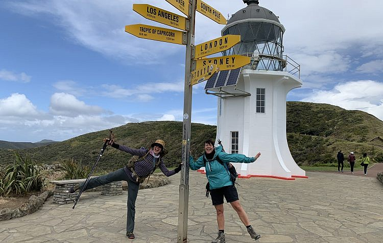 Cape Reinga, the northernmost tip of New Zealand
