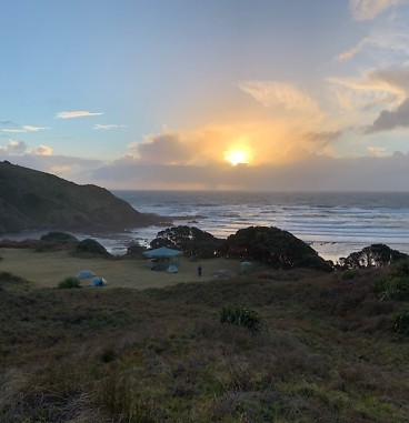 Te Araroa Day 1, Twilight Camp