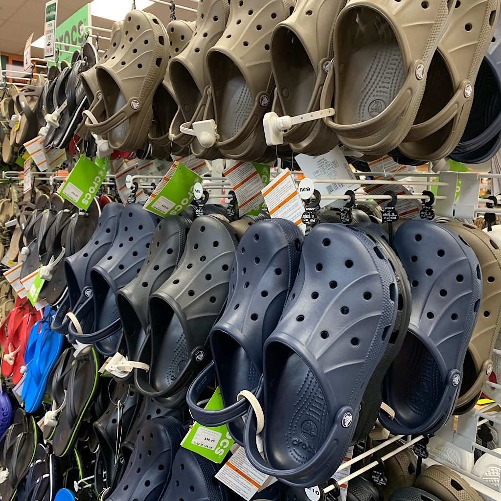 Crocs are popular in muddy Northland.