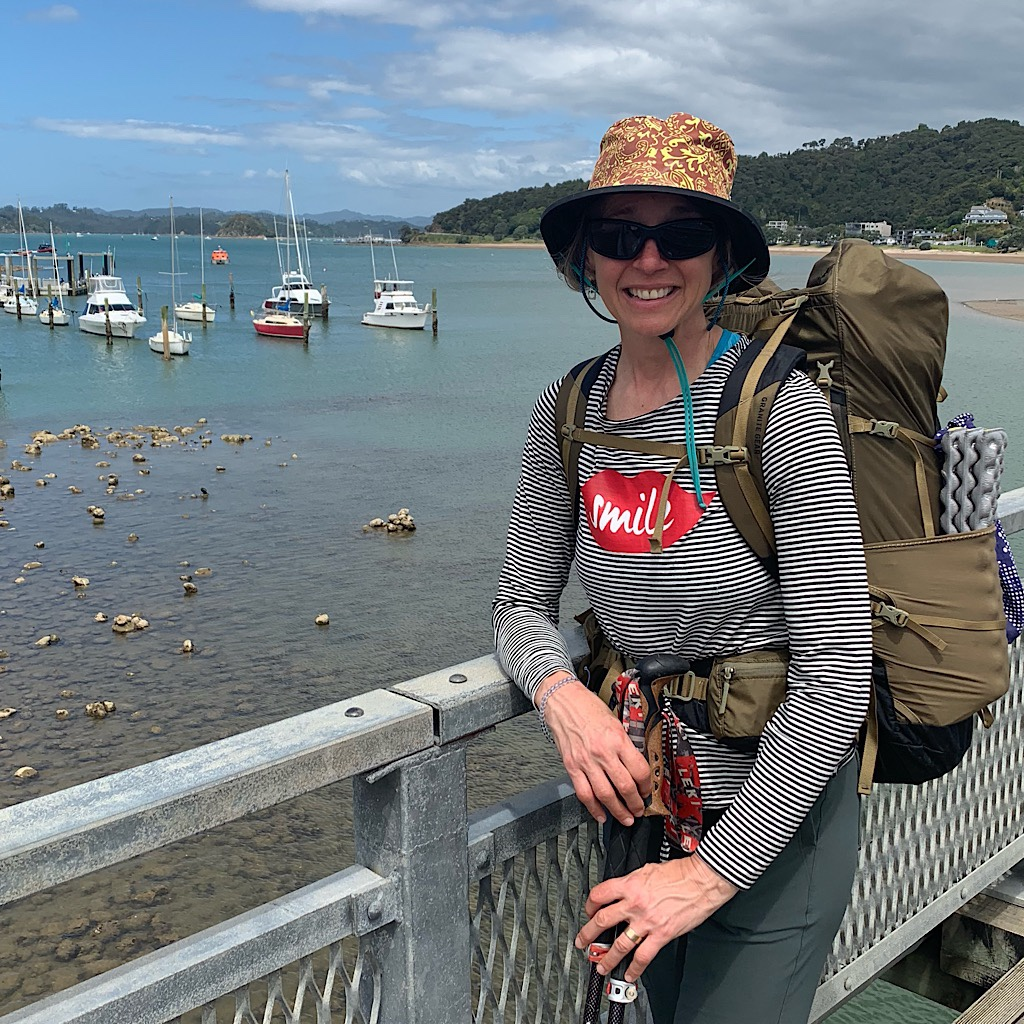 Most people I met on the Waitangi Bridge were shocked I planned to walk the entire country.