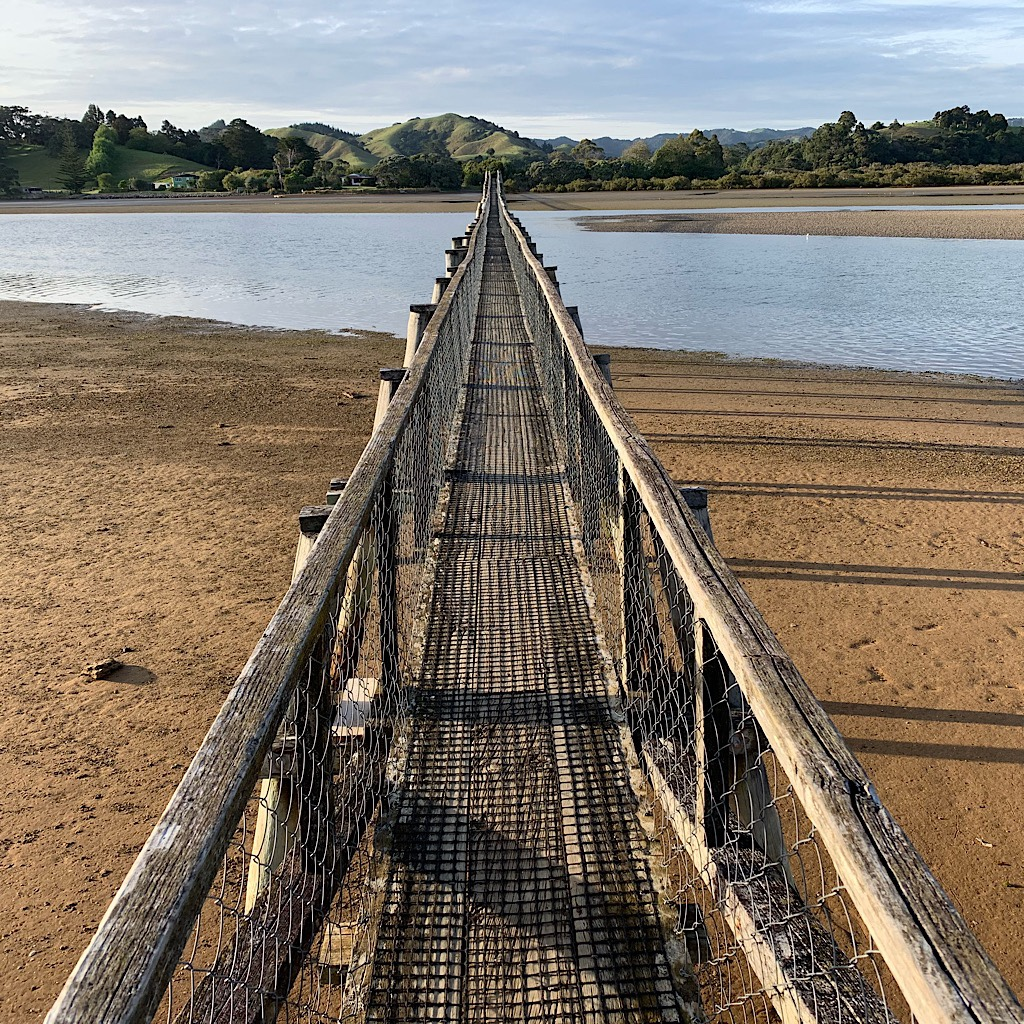 The longest footbridge in the Southern Hemisphere.