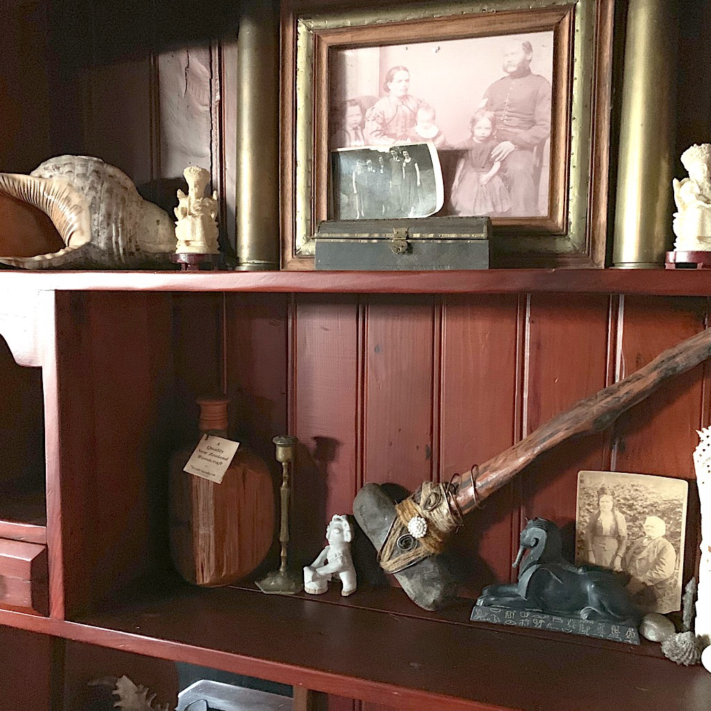 Curiosities in Johnny's house at Dragonspell.