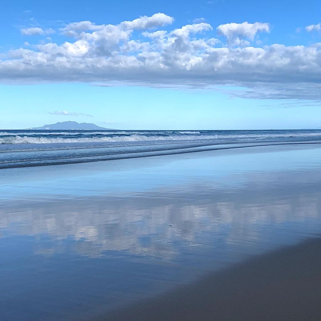 I had Pakiri beach in Northland all to myself.