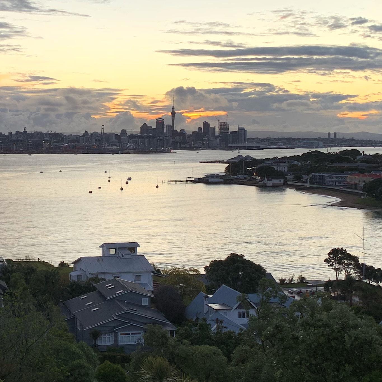 Auckland from Devonport.