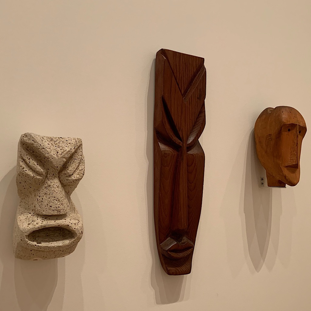 Masks from the people of Aotearoa and Oceania.