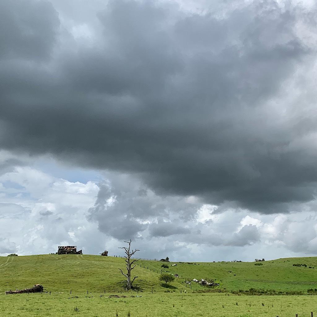 No rain – yet.
