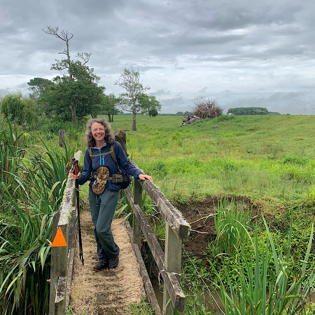 Local landowners and the Te Araroa Association have worked hard to keep the trail to Huntly off the road.