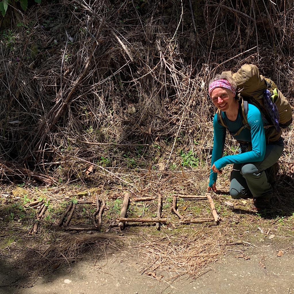 The 1000 kilometer mark – about 620 miles, or 1/3 of the Te Araroa's length.