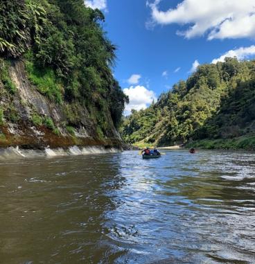 Day 51, Whanganui River