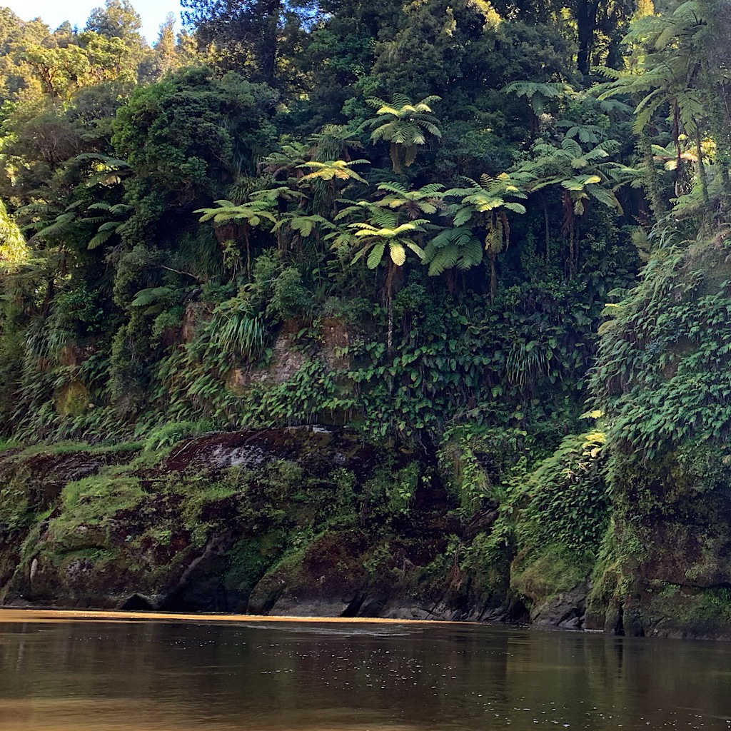 Cliffs and waterfalls surrounded us as we paddled down this magnificent river.