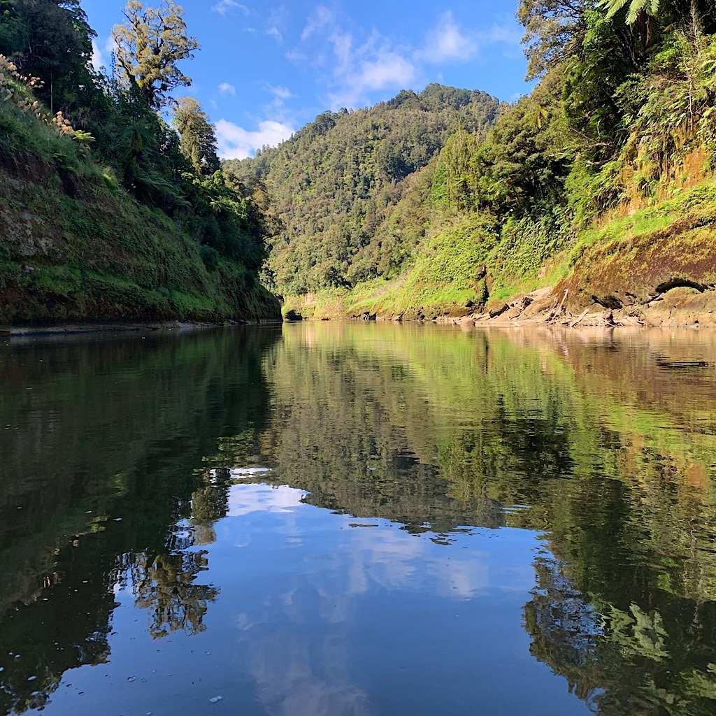 Mostly, the Whanganui is placid and lusciously beautiful.