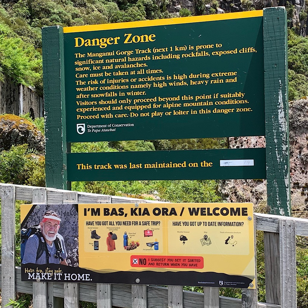 At least 80 people have died on Taranaki since record have been kept. Mostly, people arrive unprepared for the rough terrain, the wind, cold, and blazing sun.