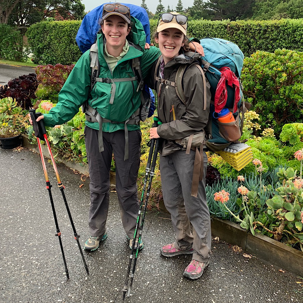 American sisters Devin and Bri took time off from leading outdoor groups to hike the Te Araroa together.