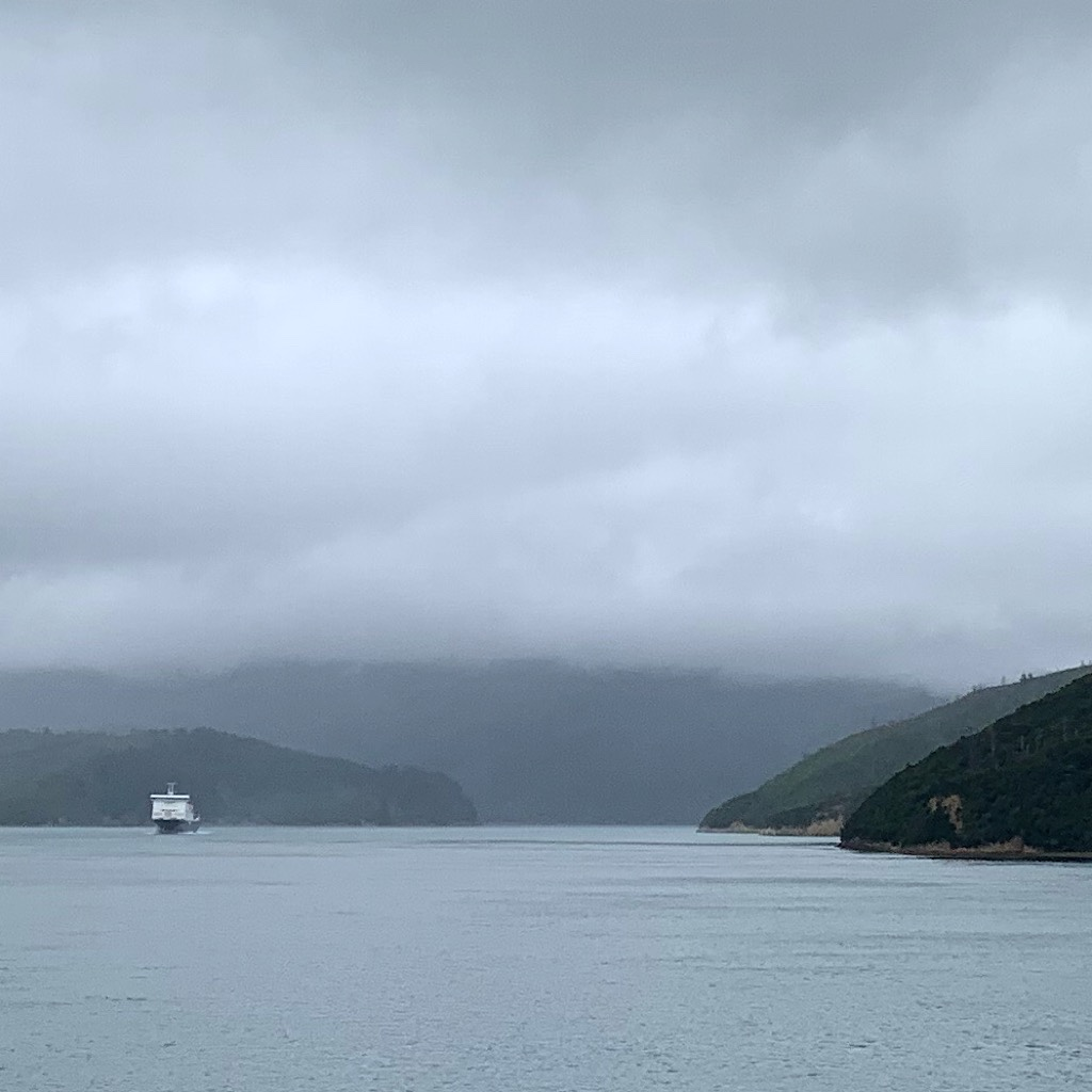 Heading into the Queen Charlotte Sound filled with inlets and fjords.