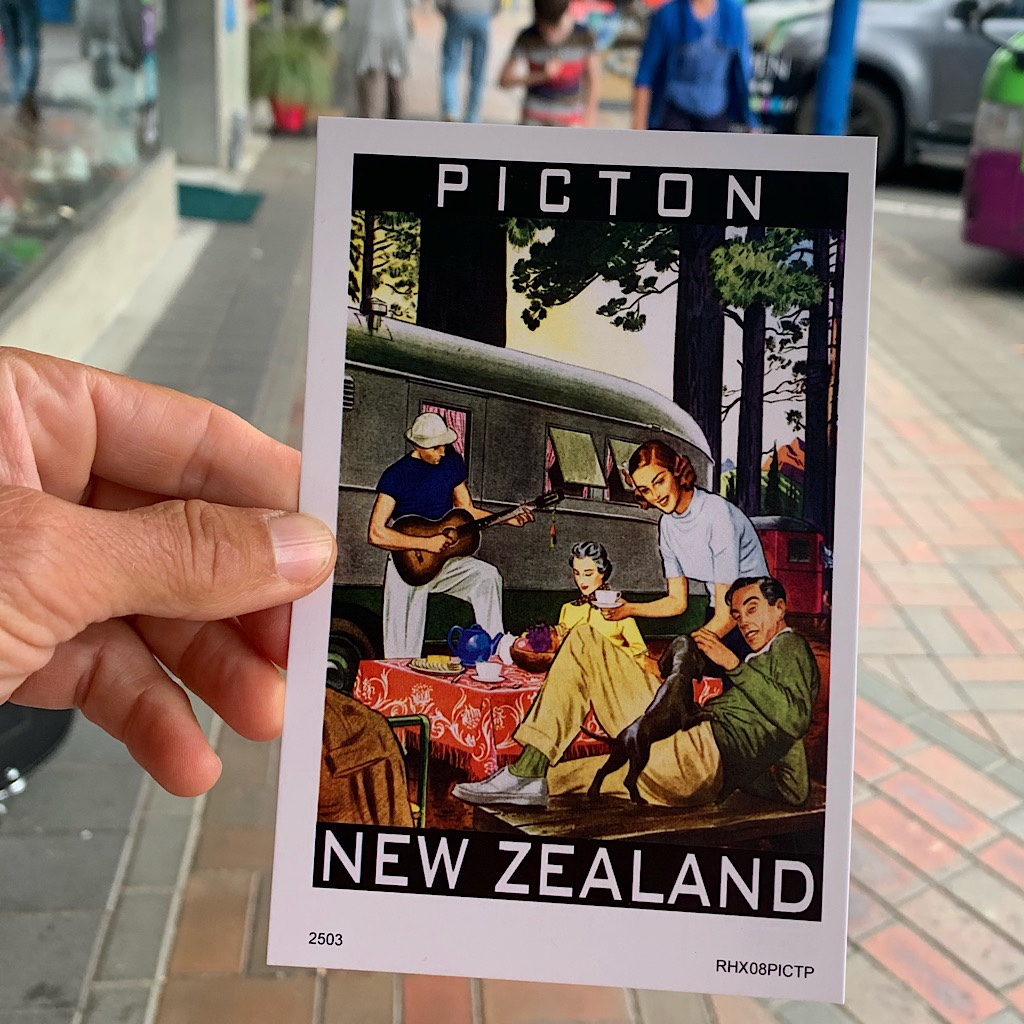 Wine, women and song in Picton.