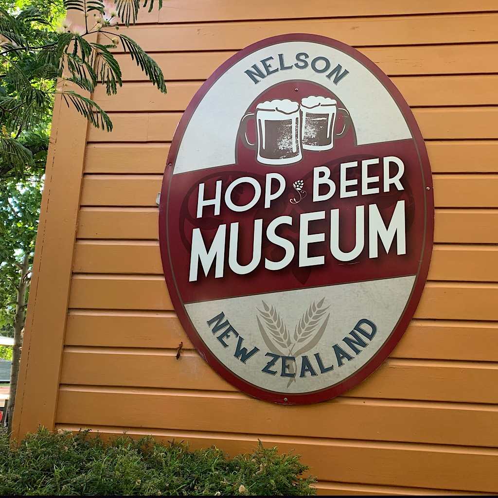 Nelson is famous for its hops – and its beer.
