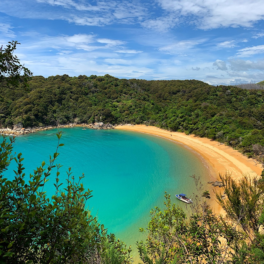 A private bay at Abel Tasman.