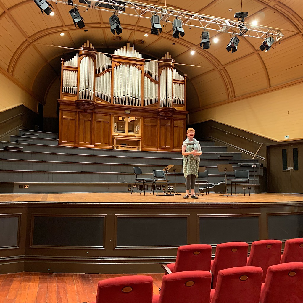 The lovely theatre and organ that was saved by the community.