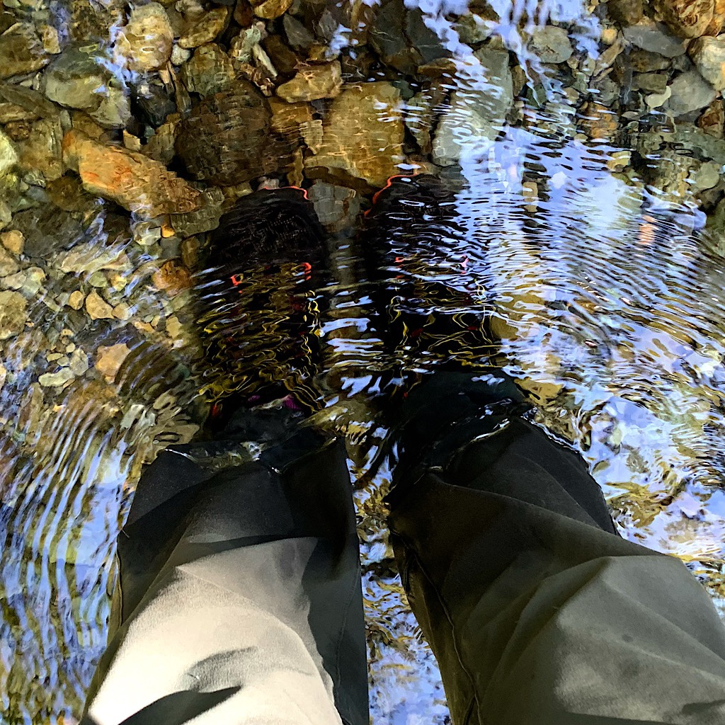 Kiwis never take off their shoes to cross rivers, there are simply too many crossings.
