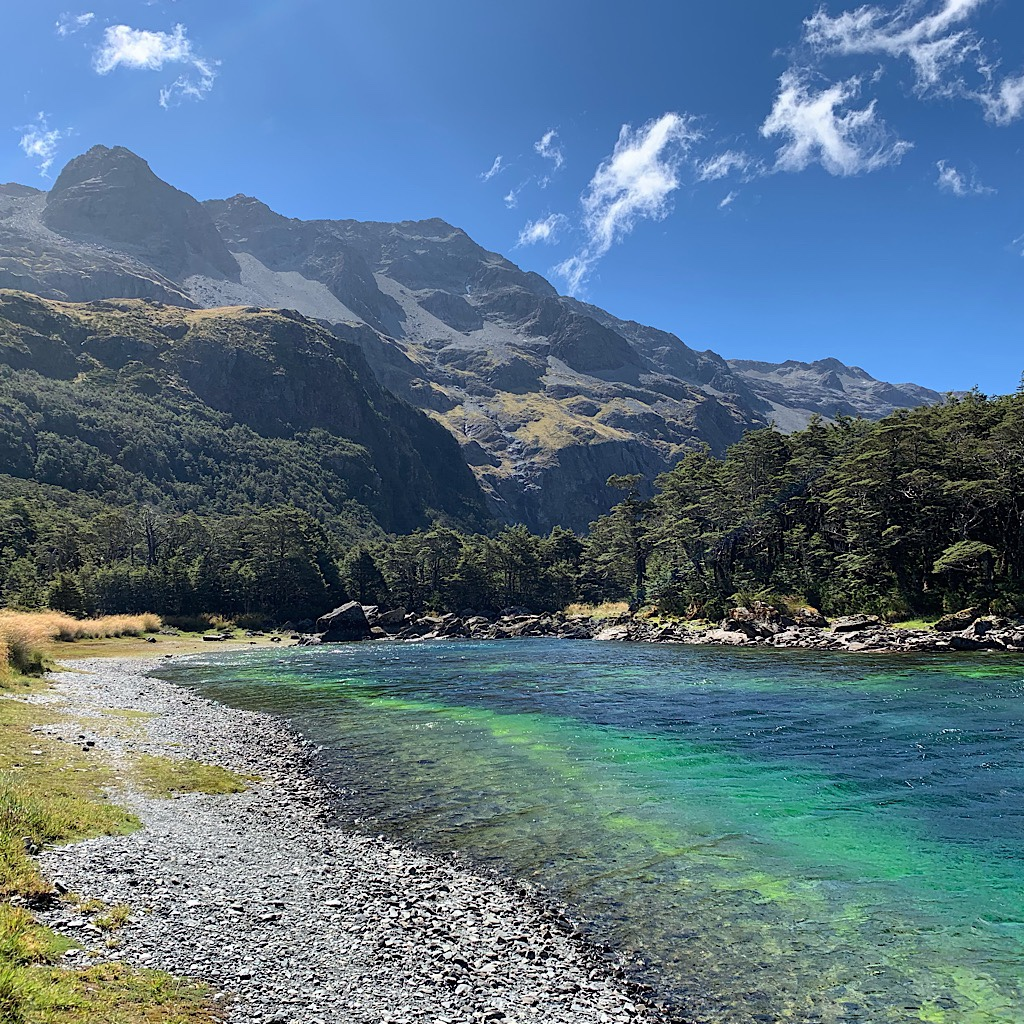 Rotomairewhenua or Blue Lake is considered the clearest natural fresh water in the world.