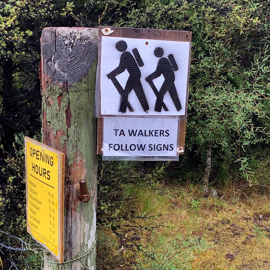 Boyle Village was set up to welcome us walkers, but the person in charge was very strict and unpleasant.