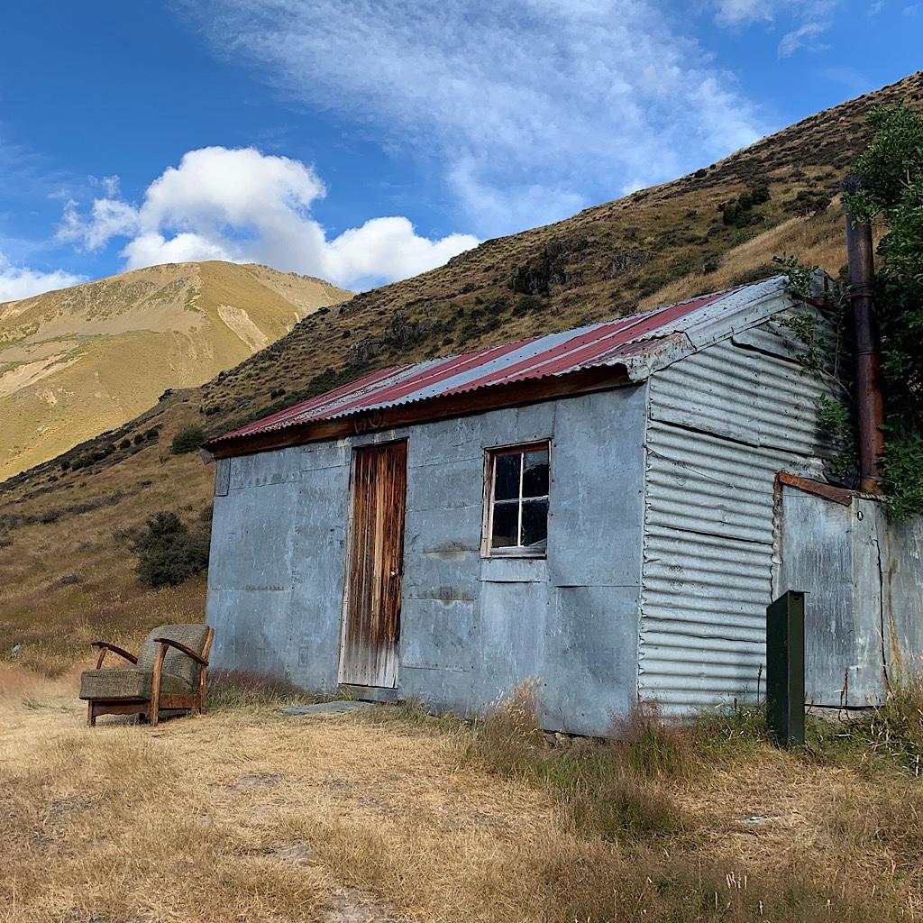 I had beautiful Tin Hut in the Otago all to myself.
