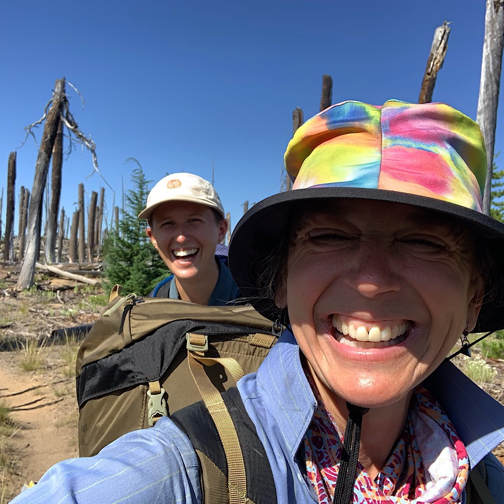 I walked with G in Central Oregon and could barely keep up with their fast pace.