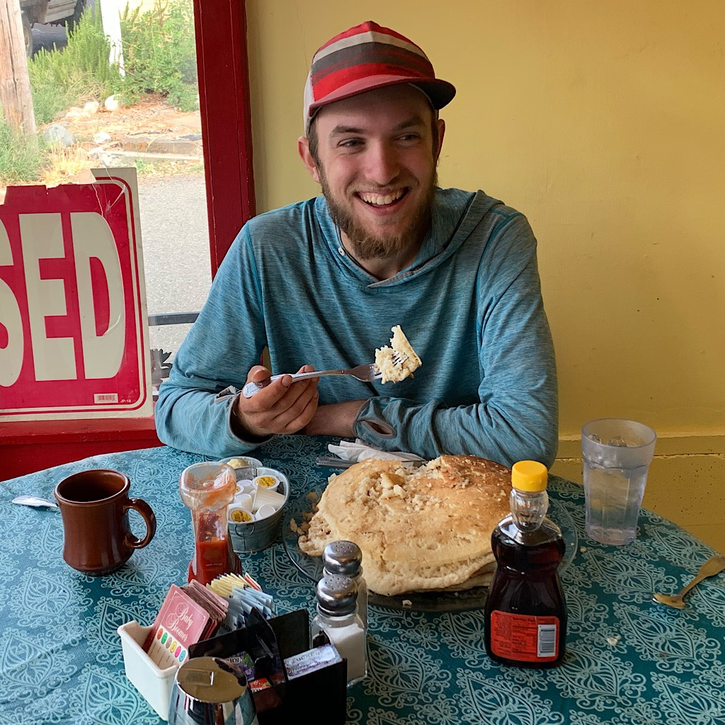 """Milk Jug"" was the youngest solo thru-hiker on the PCT in 2019."