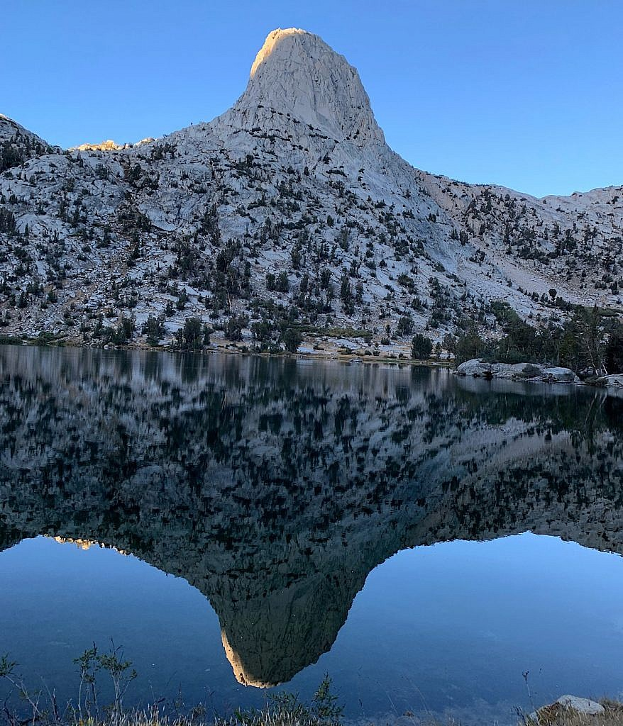 Granite Crag in the High Sierra.