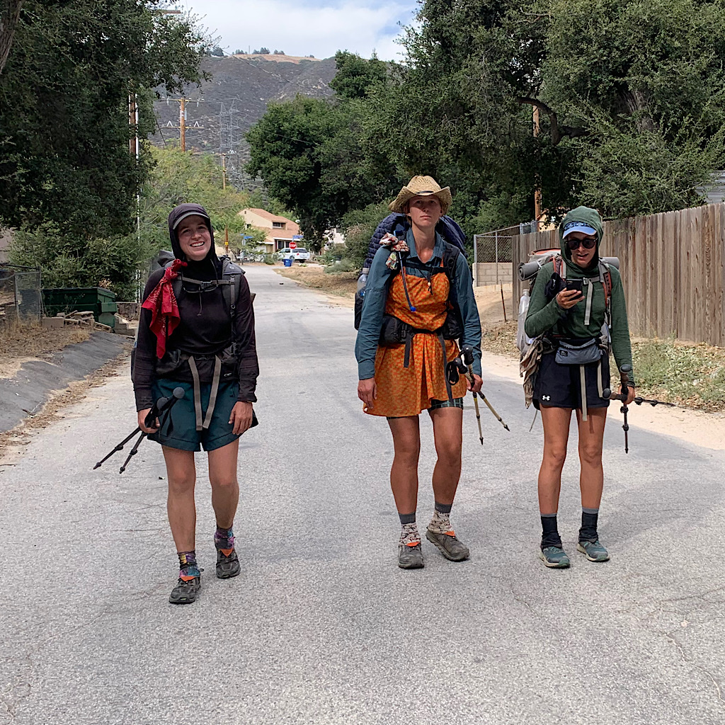 Thru-hiking is not always glamorous – or even on actual trail.