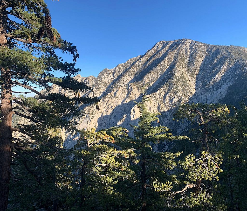 San Jacinto peak is the highest point on the PCT in Southern California, and one of the longest climbs of the entire trail.