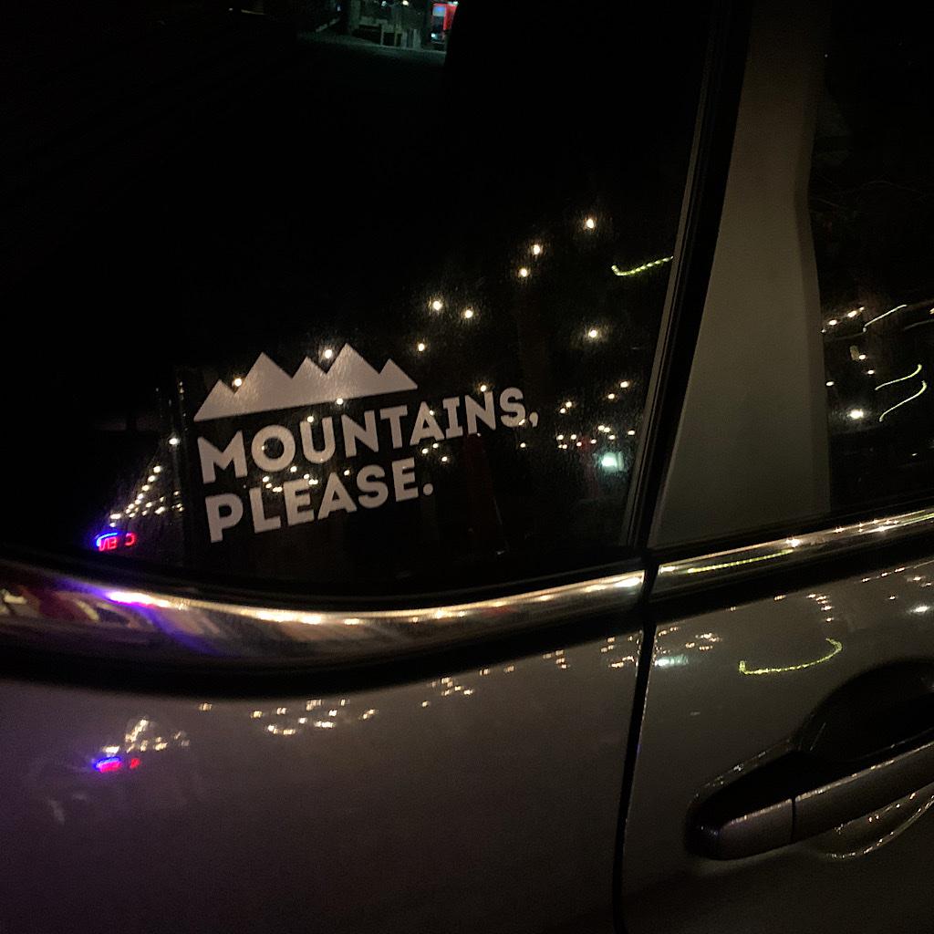 Mountains please!