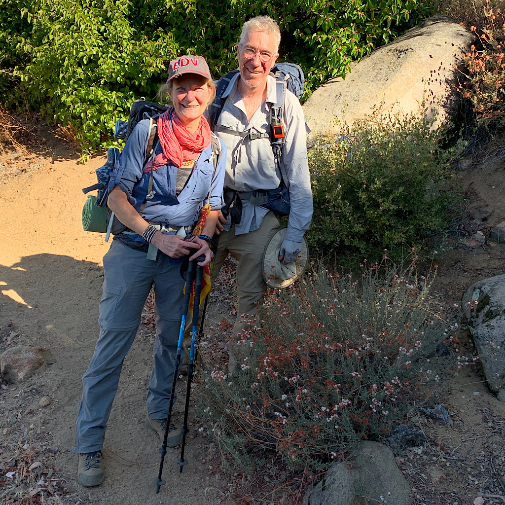 PCT section hikers seem to have a higher level of joy from thru-hikers.