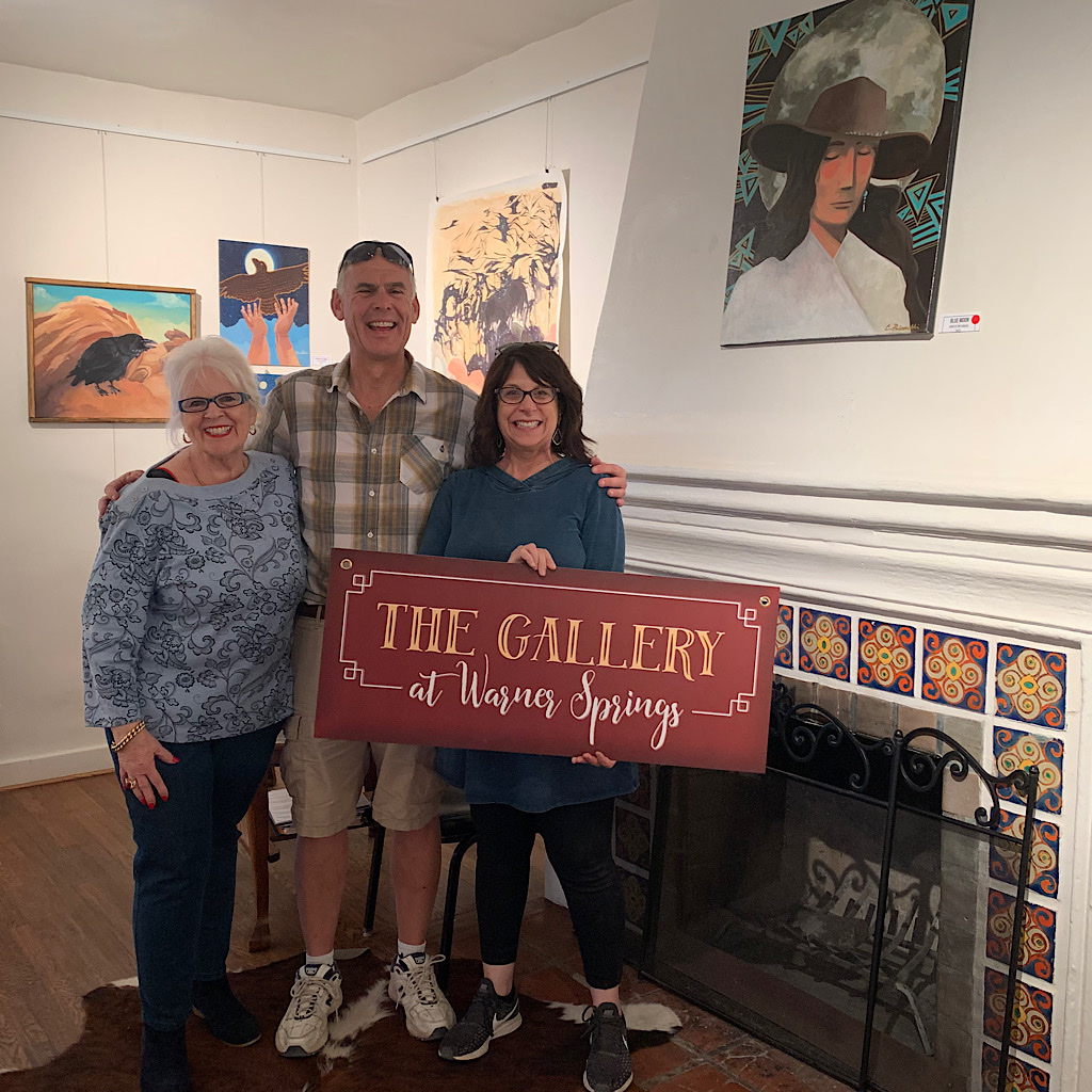 Catching up with the folks of the Gallery at Warner Springs.
