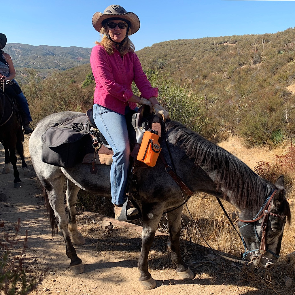 The PCT supports horseback riding as well as hiking.