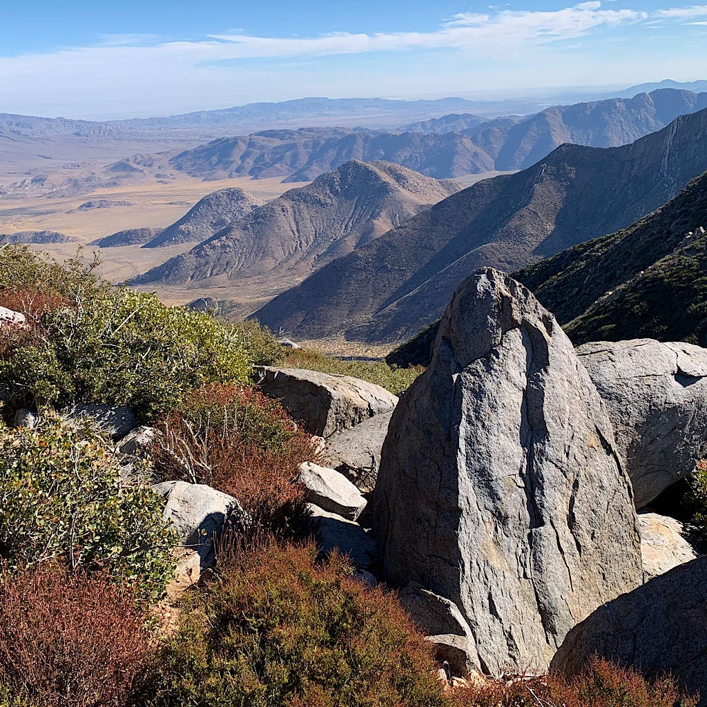 Stunning views from Garnet Peak.