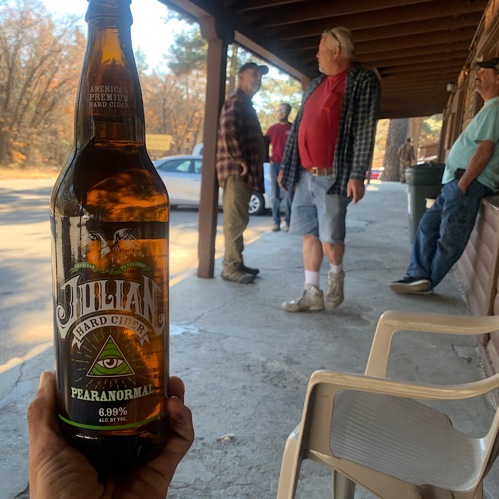 Julian is famous for its apples - and its hard apple cider.