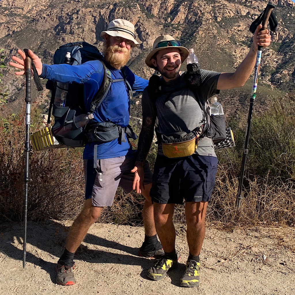 Fellow thru-hikers ready for the end.