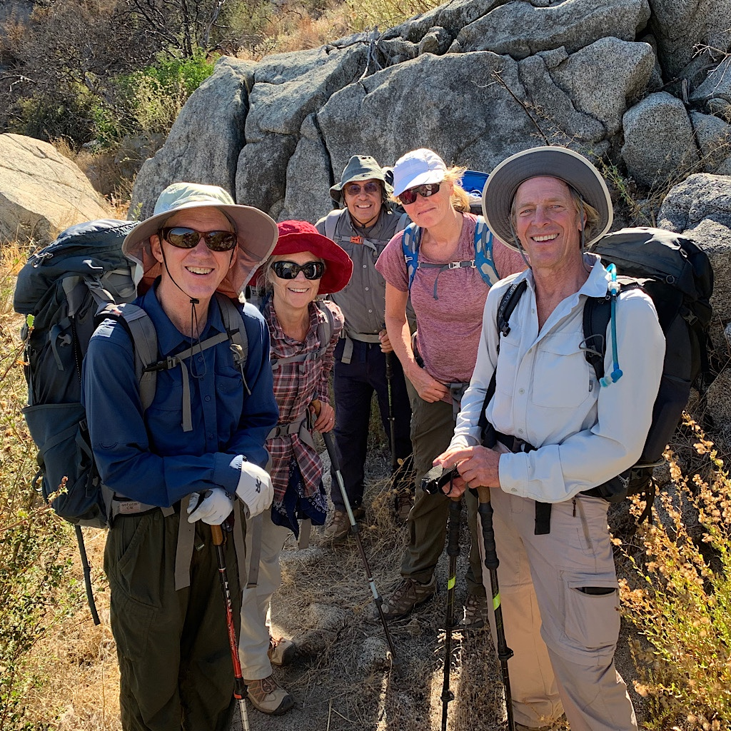 Happy Hikers heading out for the weekend.