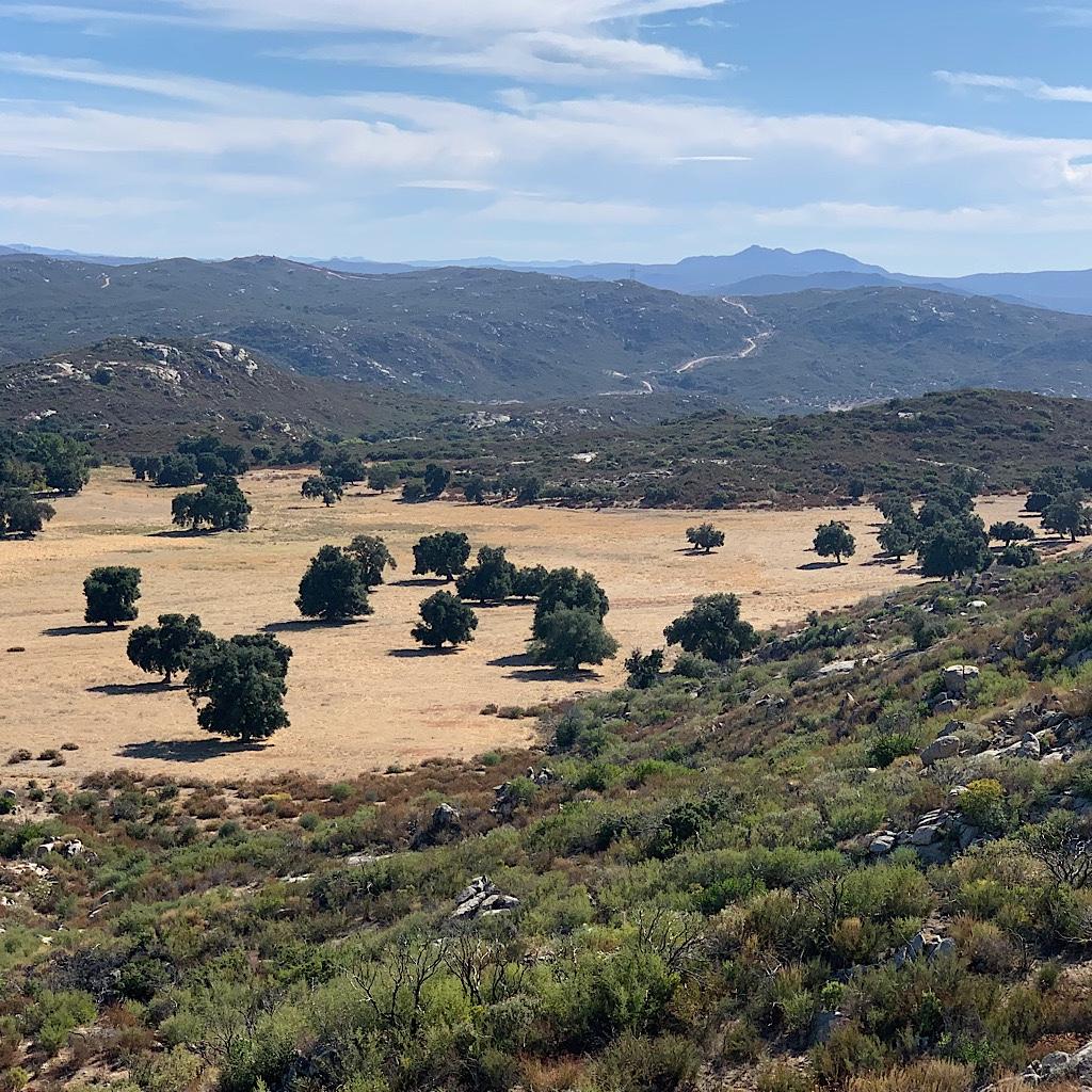 A ranch near Campo.