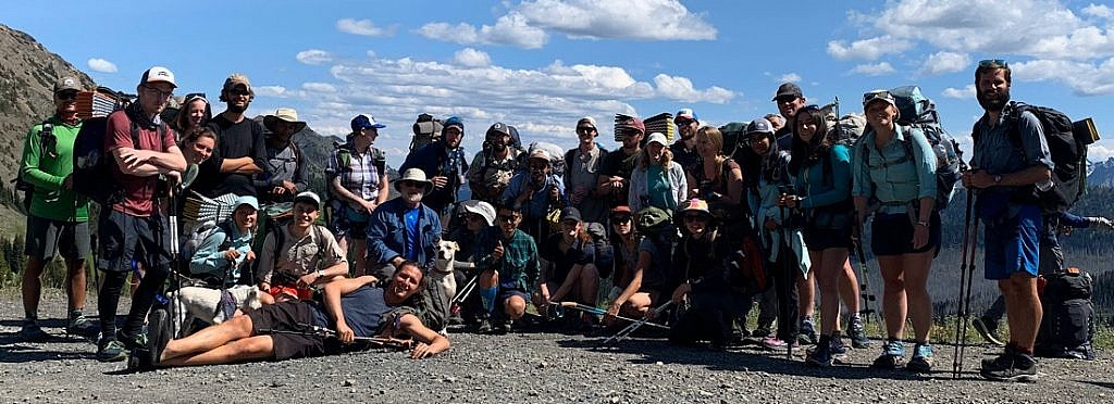 I started the PCT with about thirty strangers riding up together to Hart's Pass from Bellingham in three rented vans.