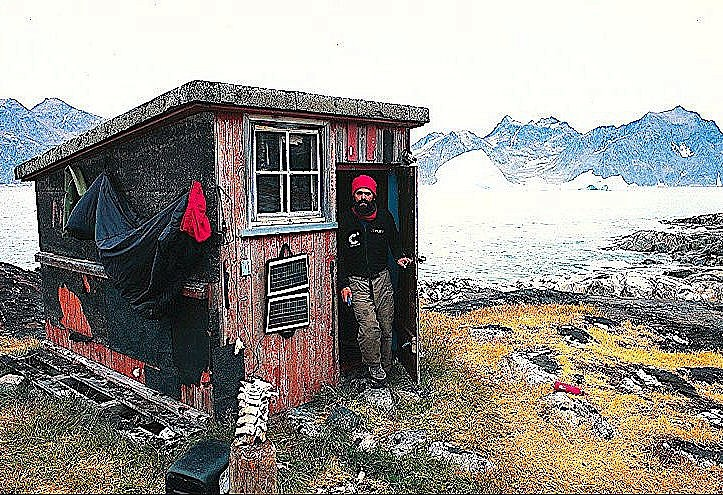 Guest Post writer and Arctic Explorer Lonnie Dupre in Greenland.