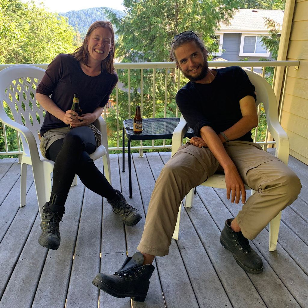 Melinda and Henry planned to hike the PCT from south to north, but came across deep snow and dangerous river crossings in the Sierra, so flipped up north to Washington and headed south to meet the spot where they left off.