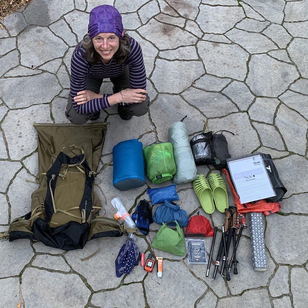 The Blissful Hiker packs her ultralight gear for New Zealand.