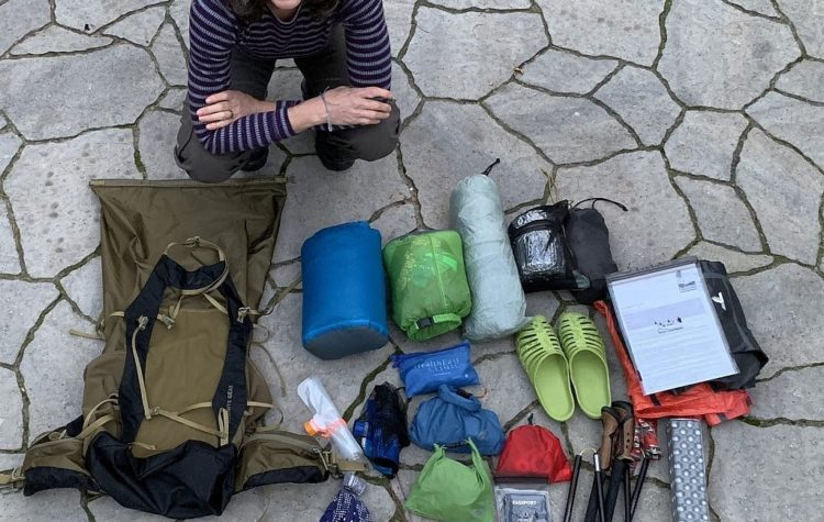 The Blissful Hiker packs her ultralight gear for New Zealand.